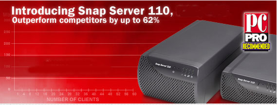 Snap Server 110 by Adaptec NAS Storage