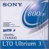 LTO LTX400G - Data Cartridge Tape, LTO-3, Ultrium-3, SONY 400/800GB LTO3 Ultrium3