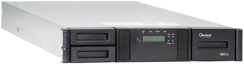 Neo 200s 12 Slot Lto 4 Hh Lvd Scsi 2u Tape Autoloader P N Ov Lns101702 By Overland Storage
