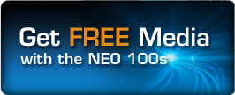 Overland Storage FREE NEO 100s FREE Media Promotion