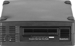 Quantum LTO-5 Tape Drive, Half Height Tabletop SAS HBA Bundle, Tabletop, 6Gb/s SAS, Black, TC-L52BN-EZ External SAS HH