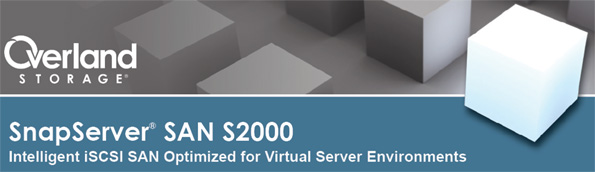 SnapServer S2000 SAN Solution iSCSI by Overland Storage