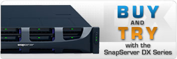 SnapServer DX2 Series Promotion - Buy and Try DX2 Rackmount NAS