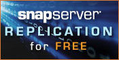 FREE SnapServer EDR Data Replication Software with purchase of 2 Rackmount NAS Servers